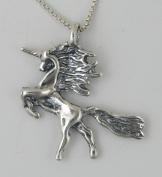 A Little Unicorn Pendant in Sterling Silver