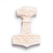 Celtic norse thor hammer amulet bone pendant necklace by 81stgeneration