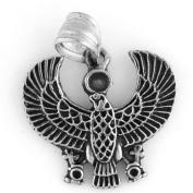 Egyptian Jewellery Silver Falcon Horus Pendant