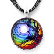 Tree of Life Meditation Handmade Jewellery Fine Art Pendant