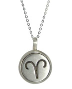 Silver Zodiacus Necklace - Aries