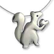 Love Nut Sterling Silver Charm Necklace