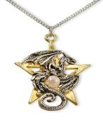 Dracogram Dragon Pentagram Pendant Necklace