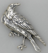 The Rascal Raven Beautifully Done in Sterling Silver