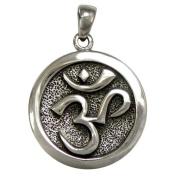 Om Aum Pendant Buddhist Buddhism Hindu Jewellery Sterling Silver