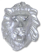 Sterling Silver Lion's Head Charm