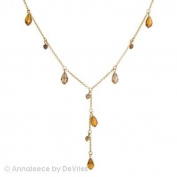 Annaleece Amber Elegance Necklace Made with. Elements