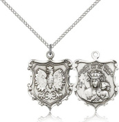 Our Lady of Czestochowa Medal, Sterling Silver