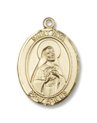 Gold Filled St. Rita of Cascia Pendant