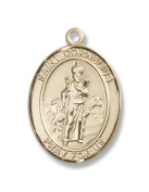 Gold Filled St. Cornelius Pendant