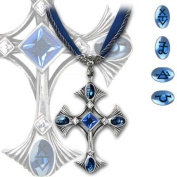 Elementary Crux Angelicus - Alchemy Gothic Pendant Necklace