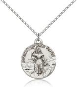 St. Joan of Arc Medal, Sterling Silver