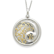 Sterling Silver & Gold-Plated Harmony 45.7cm Necklace