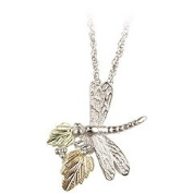 Black Hills Gold Necklace - Dragon Fly