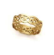 14k Celtic Toe Ring - JewelryWeb