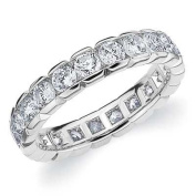 14k White Gold Box Set Diamond Eternity Ring (1.0 cttw, H-I Colour, SI1-SI2 Clarity) SIZE 9