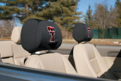 BSI PRODUCTS 82027 Headrest Covers - Texas Tech Red Raiders
