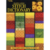 Book - Leisure Arts-Plastic Canvas Stitch Dictionary