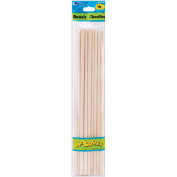Woodsies Dowels 30cm - 0.6cm 10/Pkg