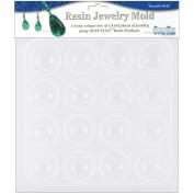 Resin Jewellery Reusable Plastic Mould 15cm - 1.3cm x 18cm -Cabachons 16 Shapes