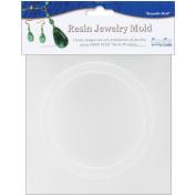 Resin Jewellery Reusable Plastic Mould .190cm X.950cm x 6.7cm -Bangle Bracelet