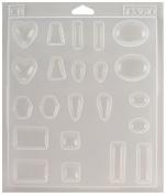 Environmental Technologies ETI33610 Castin Craft Jewelry Plastic Mold 7-1/4X8-1/4X1/2
