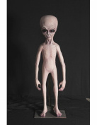 1.4m Alien Foam Filled Latex Skin Halloween Prop