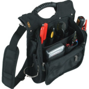 21 Pocket Professional Tool Pouch w/ Padded Shoulder Strap