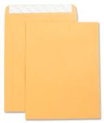 Business Source BSN42120 Catalog Envelopes- Self Seal- Plain- 9in.x12in.- 2- Kraft