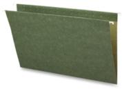 Business Source BSN26529 Hanging Folders- w-o Tabs- Legal- Green