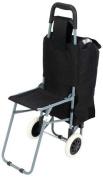 Maxam LUSHPCHR Maxam Folding Shopping Cart - Chair