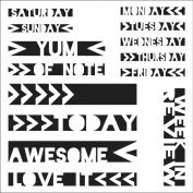 """Crafter's Workshop Templates 15cm X6""""-Life Strips"""