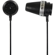 Koss Pathfinder In-Ear Earbuds with Volume Control, Black