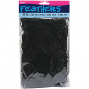 Feathers All-Purpose 14 Grammes/Pkg-Black