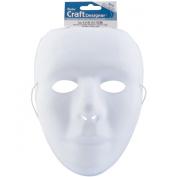 White Matte PVC Mask-25cm
