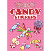 Dover Publications-Glitter Candy Stickers