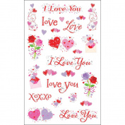 Mrs. Grossman's Stickers-Love Captions