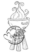 Summer Memories Cling Stamp 15cm x 7cm Package-Tilda's Barbecue