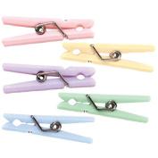 Mini Clothespins 3.5cm 20/Pkg-Assorted Pastel Colours