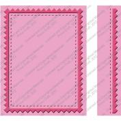 Provo Craft Cuttlebug Embossing Folder Set, Pinking Stitch