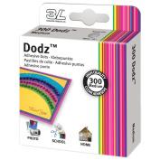 """Dodz Adhesive Dot Rolls-Medium-3/8"""", 300/Pkg"""