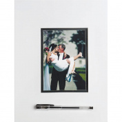 Wilton 10091111 Wedding Autograph Mat 16 in. x 20 in.-White