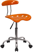 Computer Task Chair with Tractor Seat, Multiple Colours