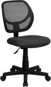 Flash Furniture WA-3074-GY-GG Mid-Back Gray Mesh Task Chair and Computer Chair