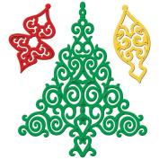 Spellbinders Shapeabilities Dies, Holiday Tree
