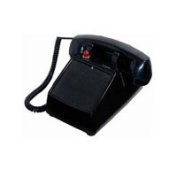 Cortelco ITT-2500NDL-BK Desk No Dial - Black