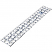 The Grace Company Truecut Ruler With Ruler Track