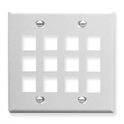 ICC ICC-FACE-12-WH Ic107F12Wh 12Port Face White