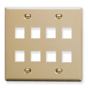 ICC ICC-FACE-8-IV Ic107Fd8Iv 8 Port Face Ivory