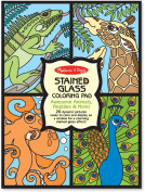 Stained Glass Coloring Pad